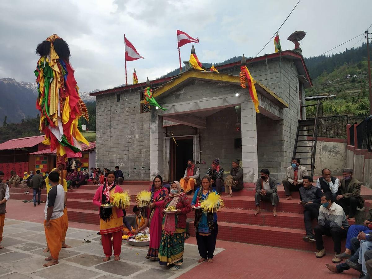 जोशीमठ में रम्माण का सीमित आयोजन