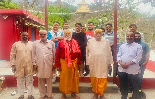 रुद्रप्रयाग जिले में धूमधाम से मनाई लोगों ने रामनवमी
