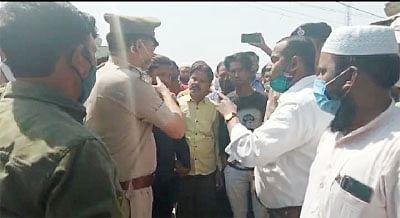रेलवे ने 553 कब्जाधारियों को हटाने का दिया नोटिस, लोगों में आक्रोश