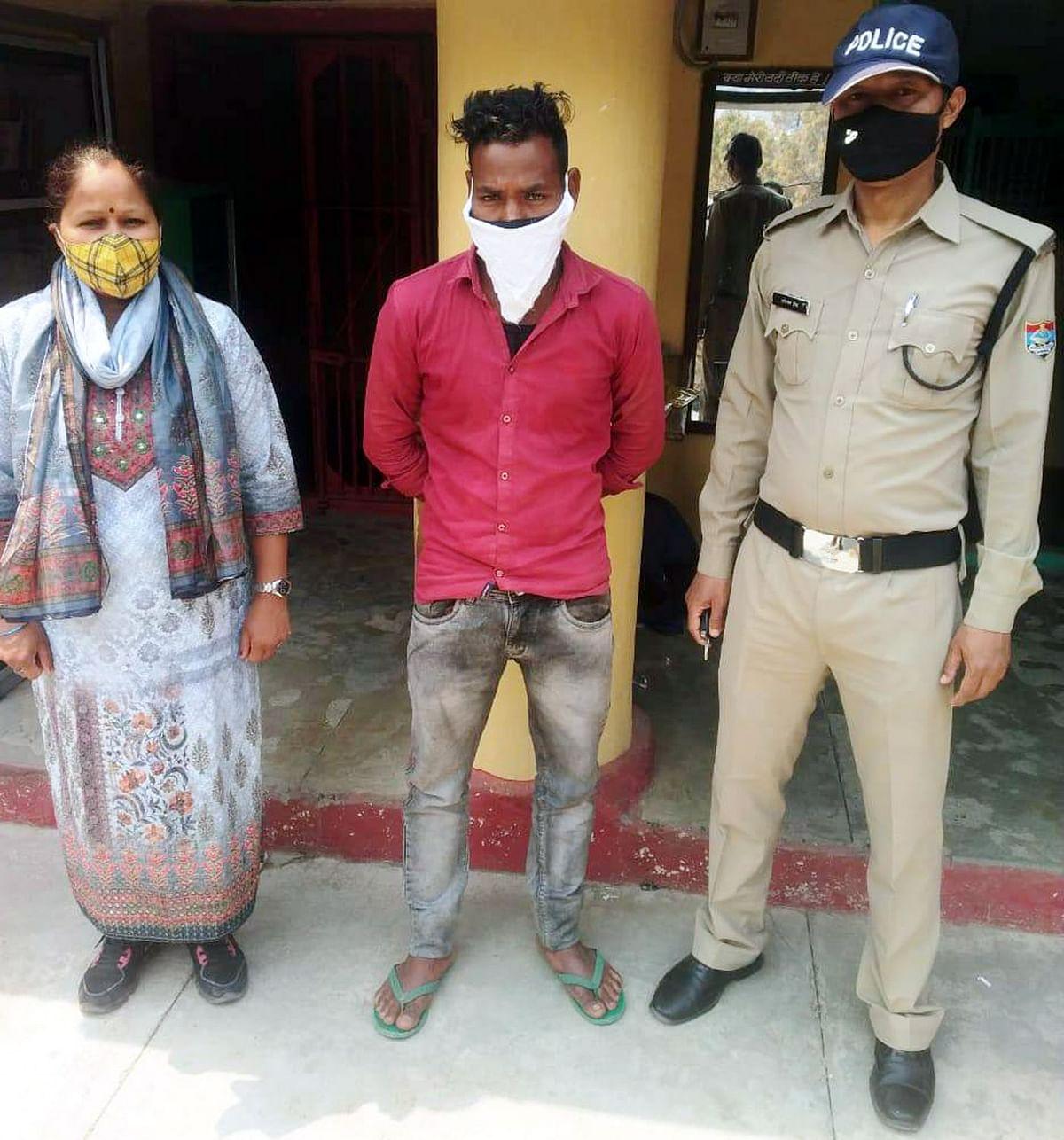 किशोरी को भगा कर ले जाने वाला आरोपित गिरफ्तार