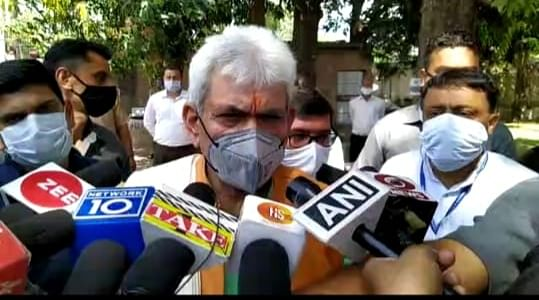 crpf-kobra-commando-rakeshwar-singh-manhas-to-return-soon---lieutenant-governor-manoj-sinha