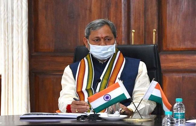 corona-report-of-uttarakhand-chief-minister-negative