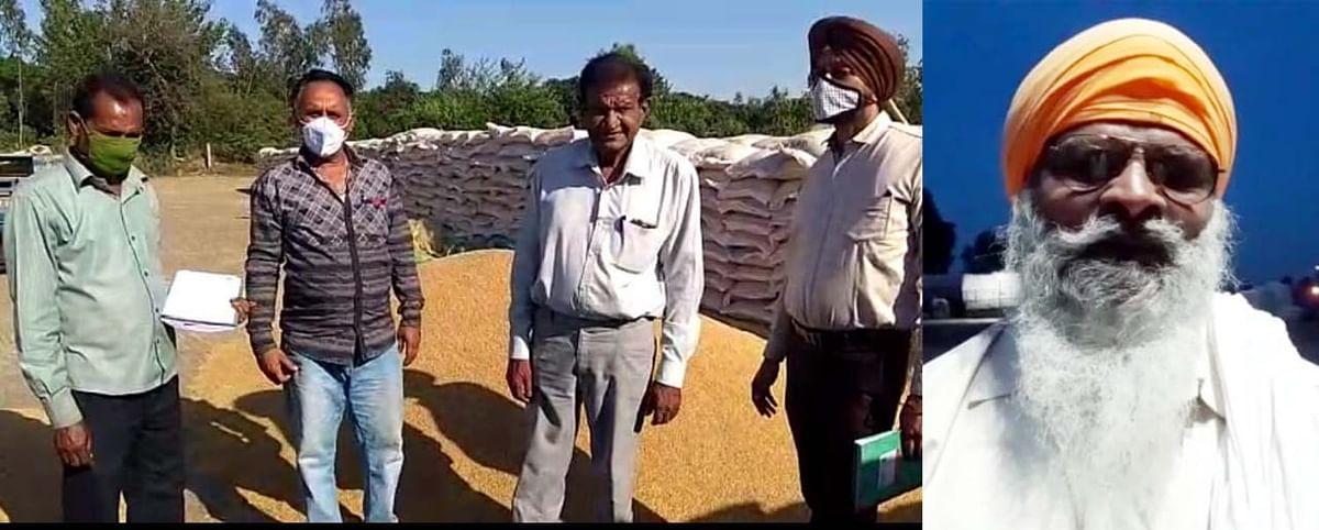 अबियाना में अनाज मंडी खुलने से किसानों को बड़ी राहत।