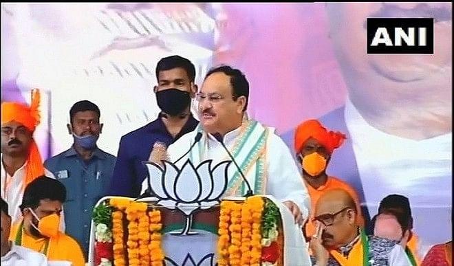 जेपी नड्डा ने वाईएसआर कांग्रेस पार्टी की सरकार पर जमकर साधा निशाना