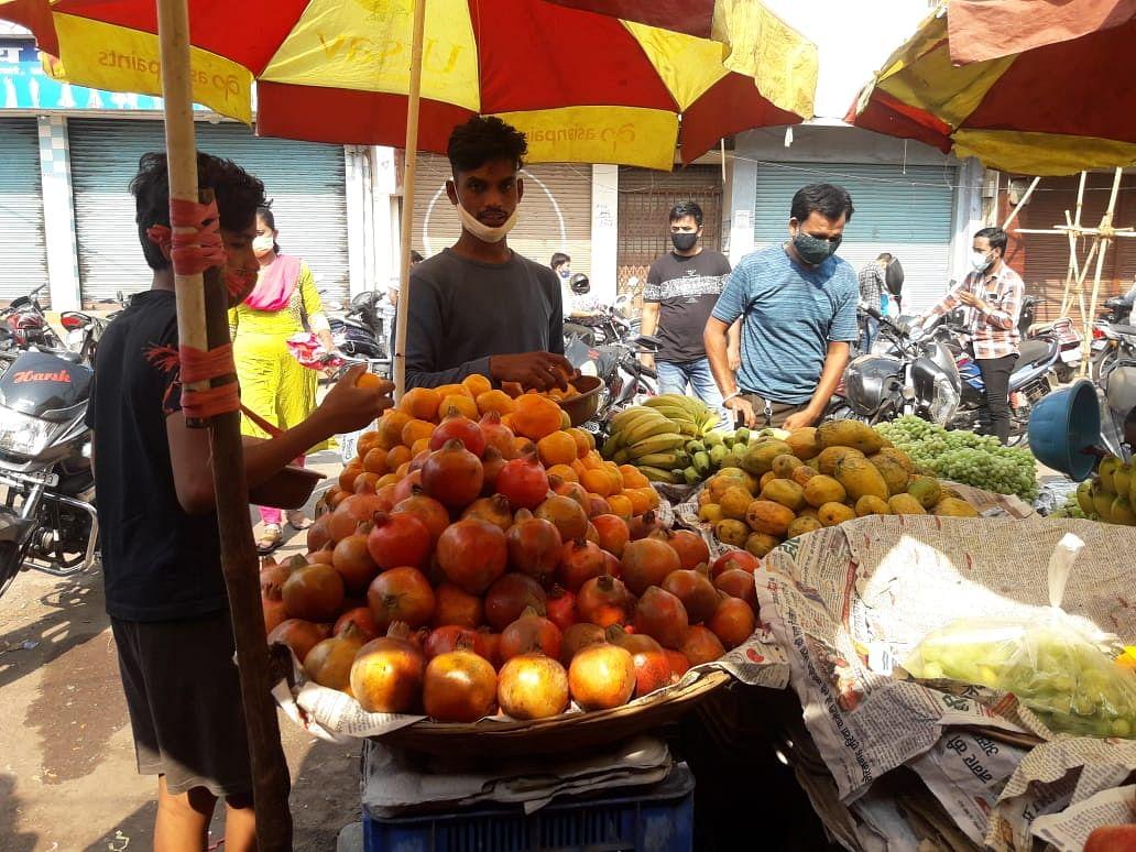 धमतरी : संतरा कोरोना के लिए फायदेमंद, मार्केट में फलों की बढ़ी मांग