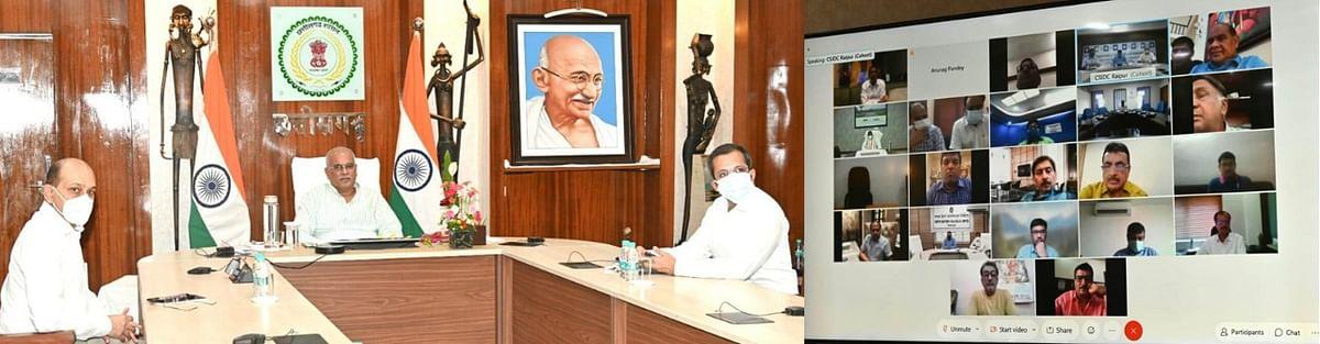 रायपुर :  कोरोना निपटने में औद्योगिक संगठनों द्वारा हर संभव सहयोग का आश्वासन - मुख्यमंत्री