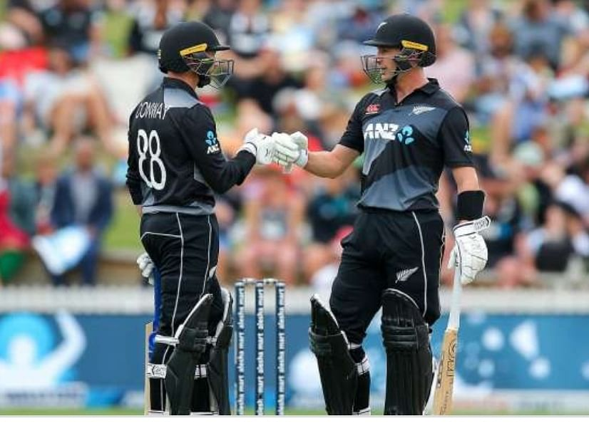 न्यूजीलैंड ने वर्षा से बाधित तीसरे टी-20 मैच में बांग्लादेश के सामने रखा 142 रनों का लक्ष्य