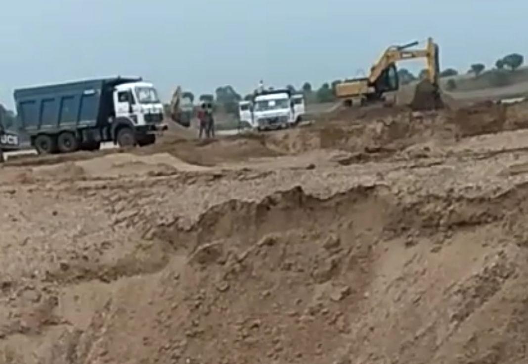 रायसेन  जिले की रेत खदान का ठेका निरस्त