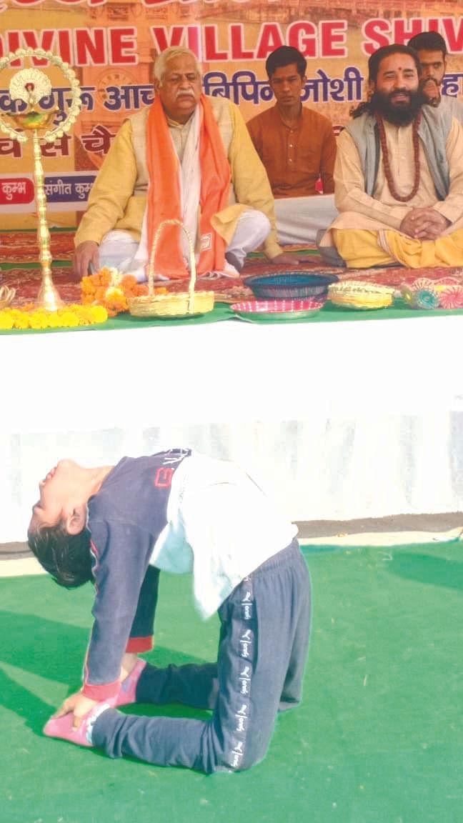 acharya-vipin-joshi-is-doing-12-kumbh-in-haridwar