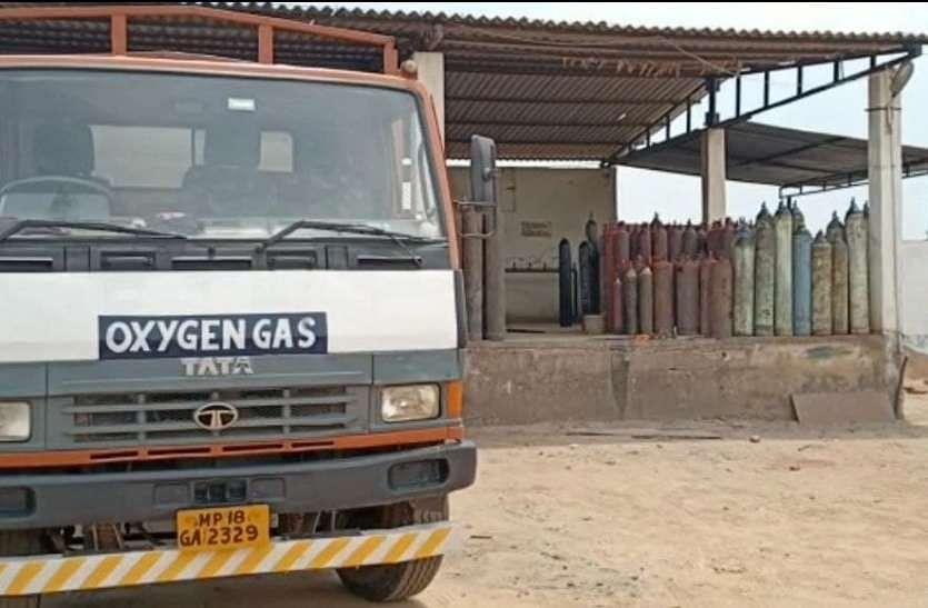 सूरजपुर से कम,बोकारो से मिला 6.50 टन ऑक्सीजन का टैंकर
