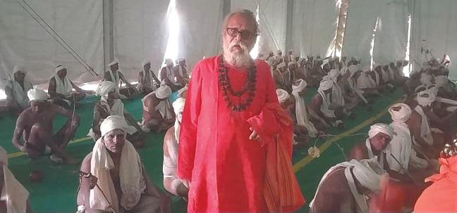 श्री पंचायती महानिर्वाणी अखाड़ा में नागा साधुओं के बनने की प्रक्रिया शुरू
