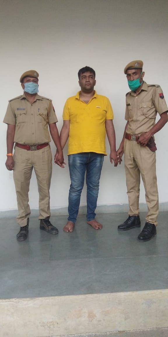 अंडरवर्ल्ड डॉन दाउद इब्राहिम का गुर्गा हिस्ट्रीशीटर दानिश अशरफ मर्चेन्ट कोटा पुलिस की गिरफ्त में