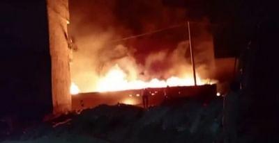 बगदाद : अस्पताल में आग लगने से 82 लोगों की मौत