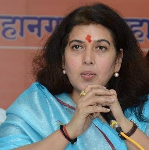 रायपुर: राज्यसभा सांसद सरोज पांडेय कोरोना पॉजिटिव, दिल्ली एम्स में भर्ती