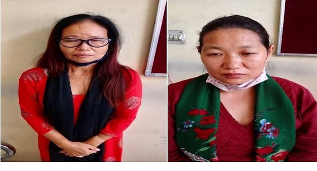अंतरराष्ट्रीय अवैध मादक पदार्थ तस्करी गिरोह की दो महिला तस्कर गिरफ्तार,दो किलोग्राम चरस बरामद