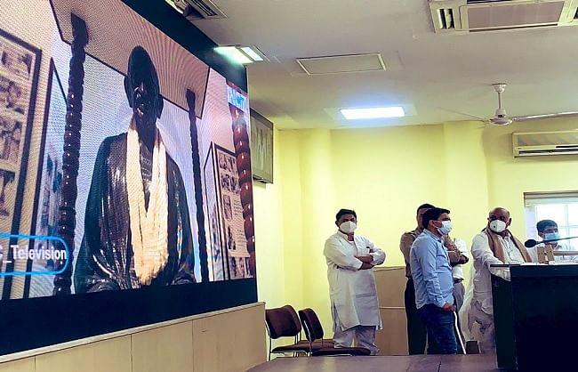 कांग्रेस ने लॉन्च किया अपना डिजिटल चैनल 'आईएनसी टीवी'