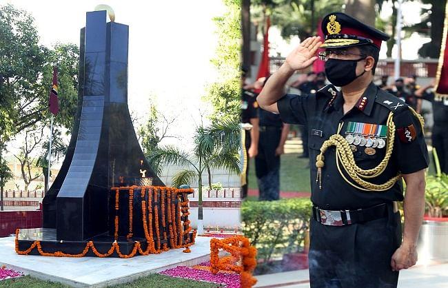 लेफ्टिनेंट जनरल संदीप मुखर्जी ने एएमसी की 257वीं वर्षगांठ पर शहीद सैनिकों को श्रद्धांजलि की अर्पित