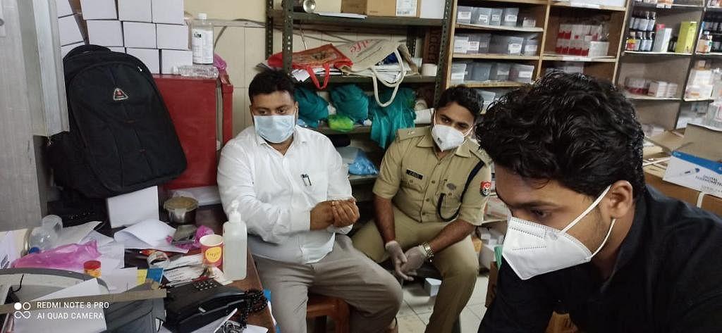 रेडमेसिविर इंजेक्शन की काला बाजारी, दो निजी अस्पतालों में छापा,नोटिस जारी