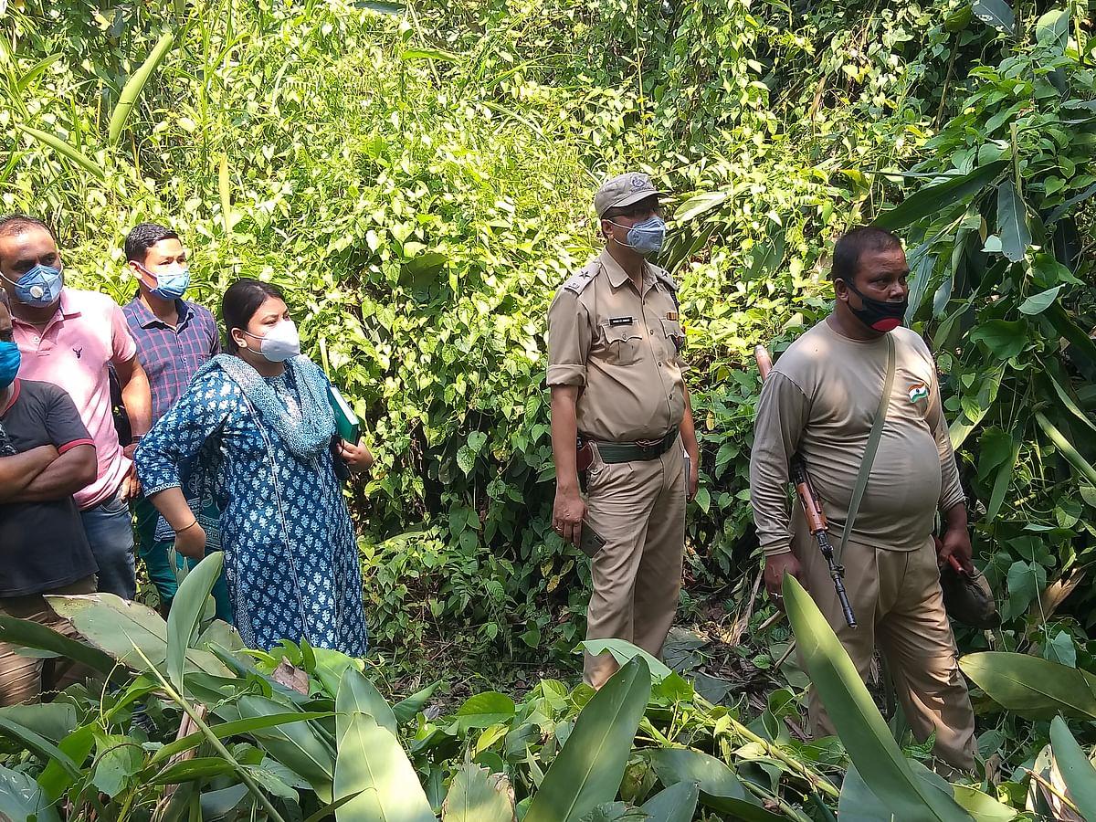 रंगापाड़ा में डायन के संदेह में विधवा महिला की हत्या