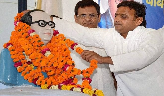 दलित वोटों को साधने के लिए सपा करेगी 'बाबा साहेब वाहिनी' का गठन, मायावती के लिए बढ़ेगी चुनौती?