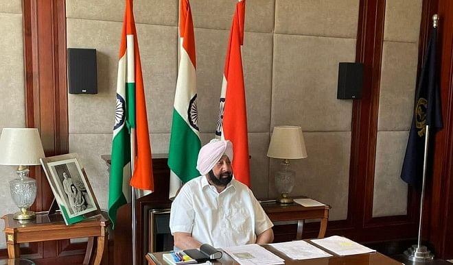 मुख्यमंत्री-अमरिंदर-ने-PM-मोदी-से-937-करोड़-की-परियोजनाओं-को-मंजूरी-देने-का-किया-आग्रह