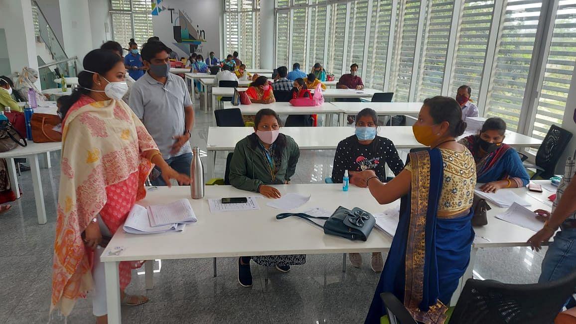 रायपुर : नालंदा परिसर में भी कांटेक्ट ट्रेसिंग का कार्य शुरु