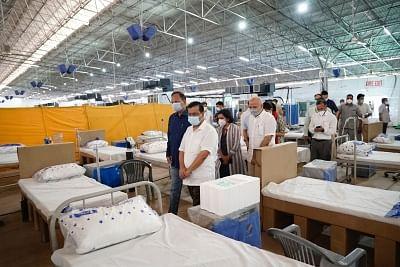 इंदौर में धनवंतरी ड्राइव इन कोविड टेस्ट सेंटर से 24 घंटे में मिलेगी रिपोर्ट