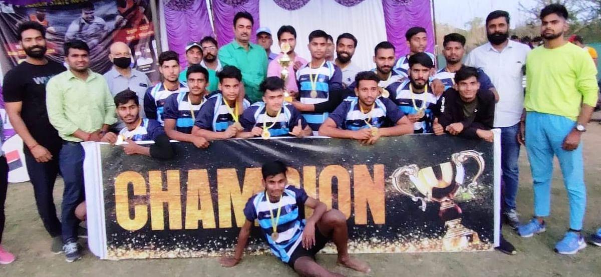 राज्य स्तरीय रग्बी प्रतियोगिता के दोनों वर्गों में जयपुर का दबदबा