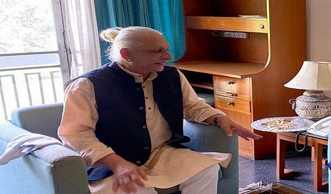 हरिद्वार कुंभ की शोभा बढ़ा रहे मुस्लिम संत श्री एम, योगी आदित्यनाथ से भी है खास रिश्ता