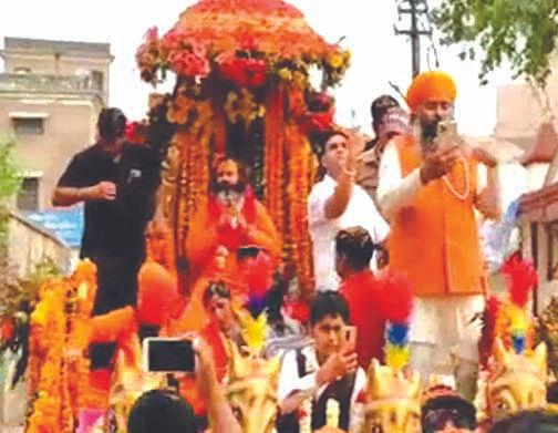 swami-rupendra-prakash-became-mahamandaleshwar-of-shri-panchayati-akhara-big-apathetic