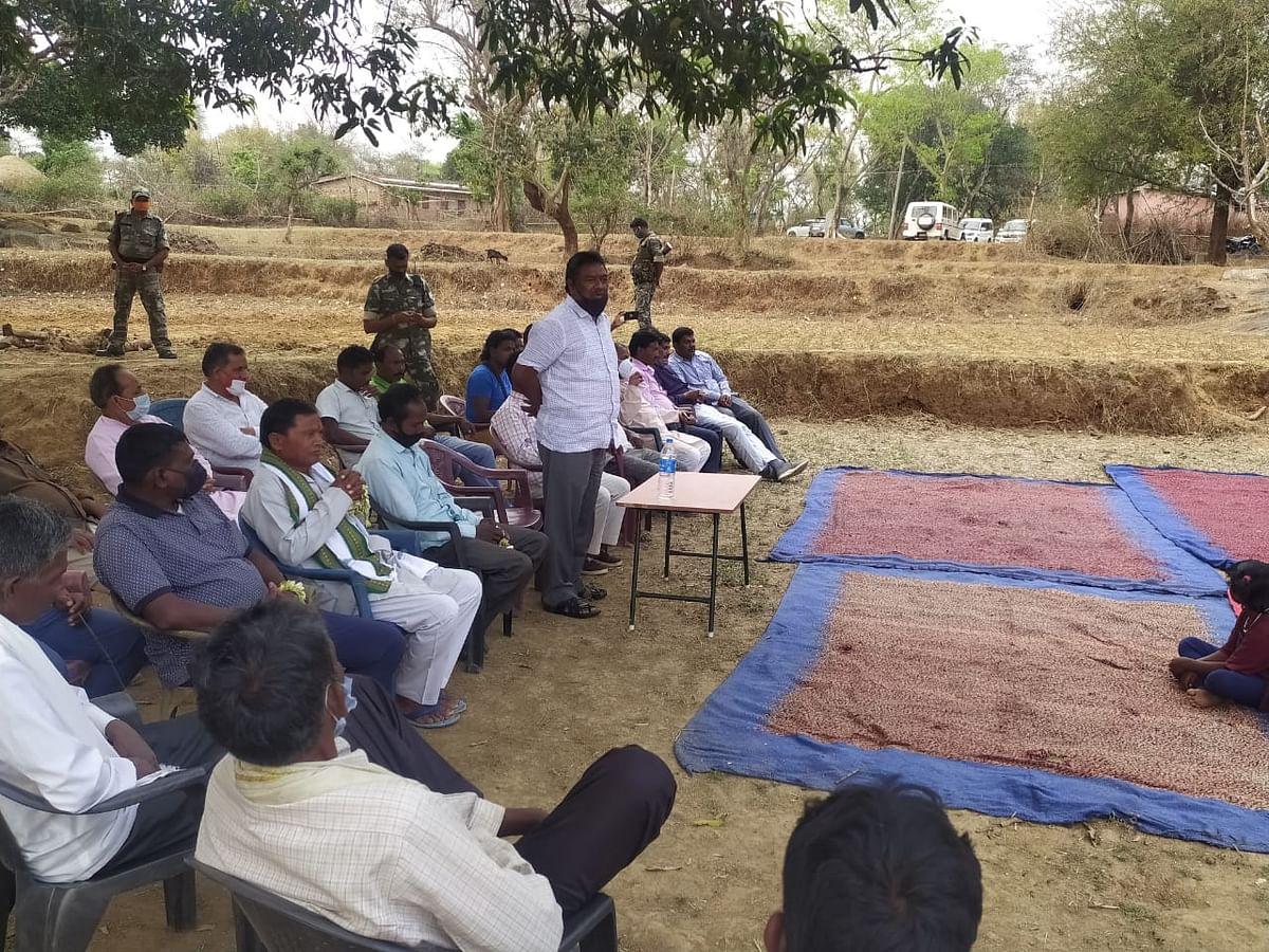 गांवों व ग्रामीणों का विकास ही मेरा लक्ष्य: नीलकंठ सिंह