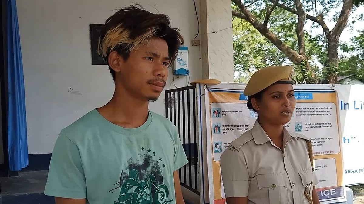 डीजीपी की तस्वीर का इस्तेमाल करने के आरोप में एक व्यक्ति गिरफ्तार