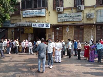 बंगाल के आखिरी चरण में सुबह-सुबह बंपर वोटिंग