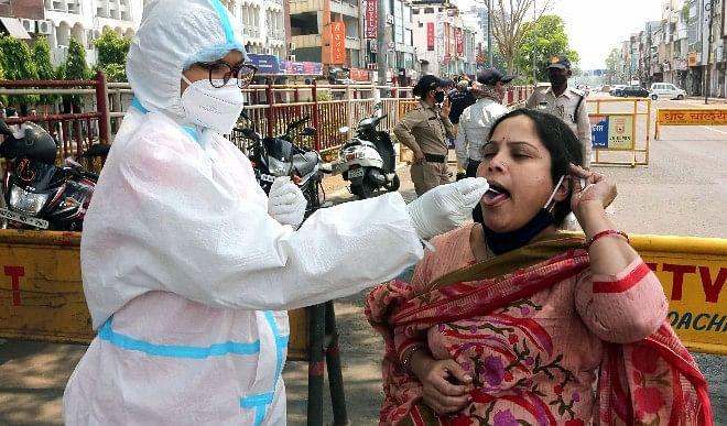 तेलंगाना में कोविड-19 के 6,551 और मिजोरम में 22 मामले सामने आए