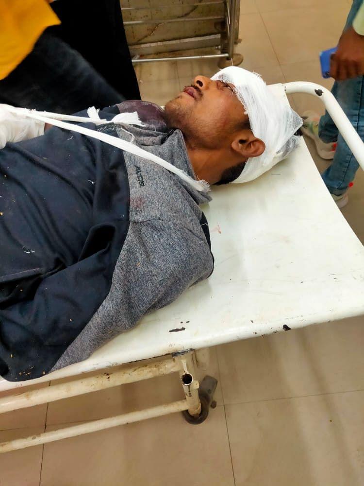 सुलतानपुर : सड़क हादसे में एक की मौत, दूसरा गंभीर