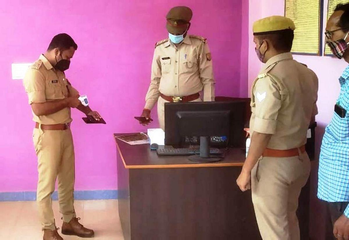 कोरोना के संक्रमण से बचाव को दिन में दो बार भाप लें पुलिस कर्मी : एसपी अंकित मित्तल