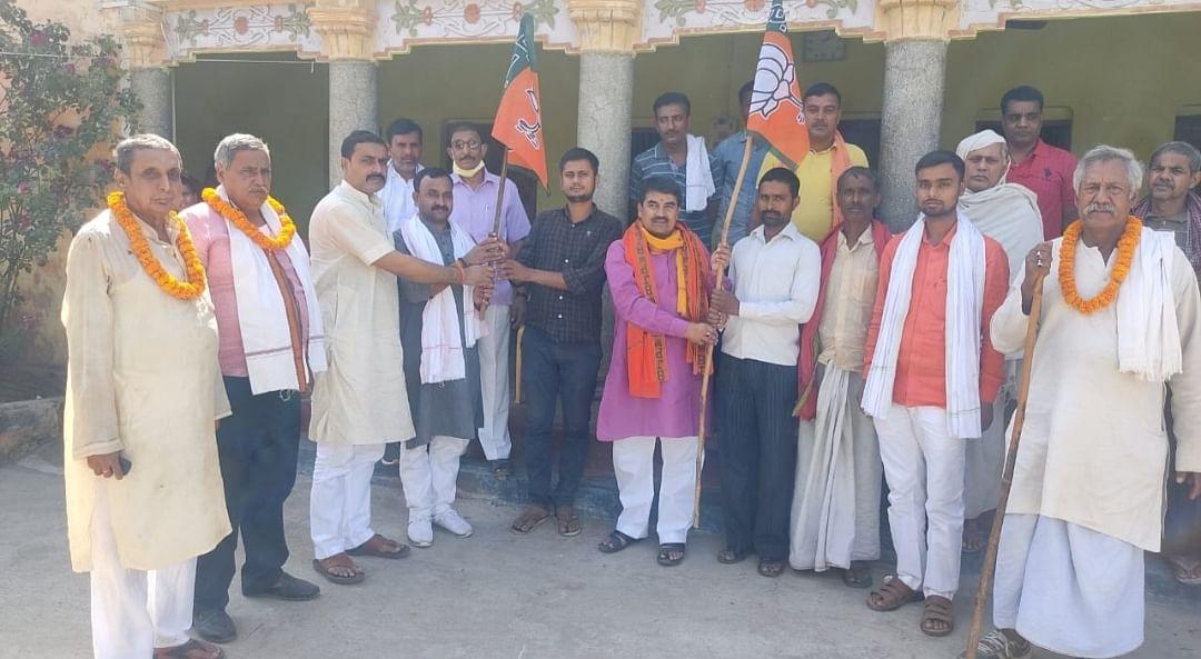 bjp-begins-three-day-foundation-day-in-bhojpur