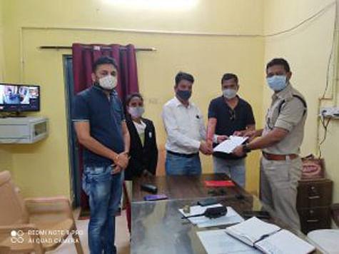 जगदलपुर : मुख्यमंत्री के विरुद्ध अभद्र टिप्पणी करने वाले पर कांग्रेस ने दर्ज कराया एफआईआर