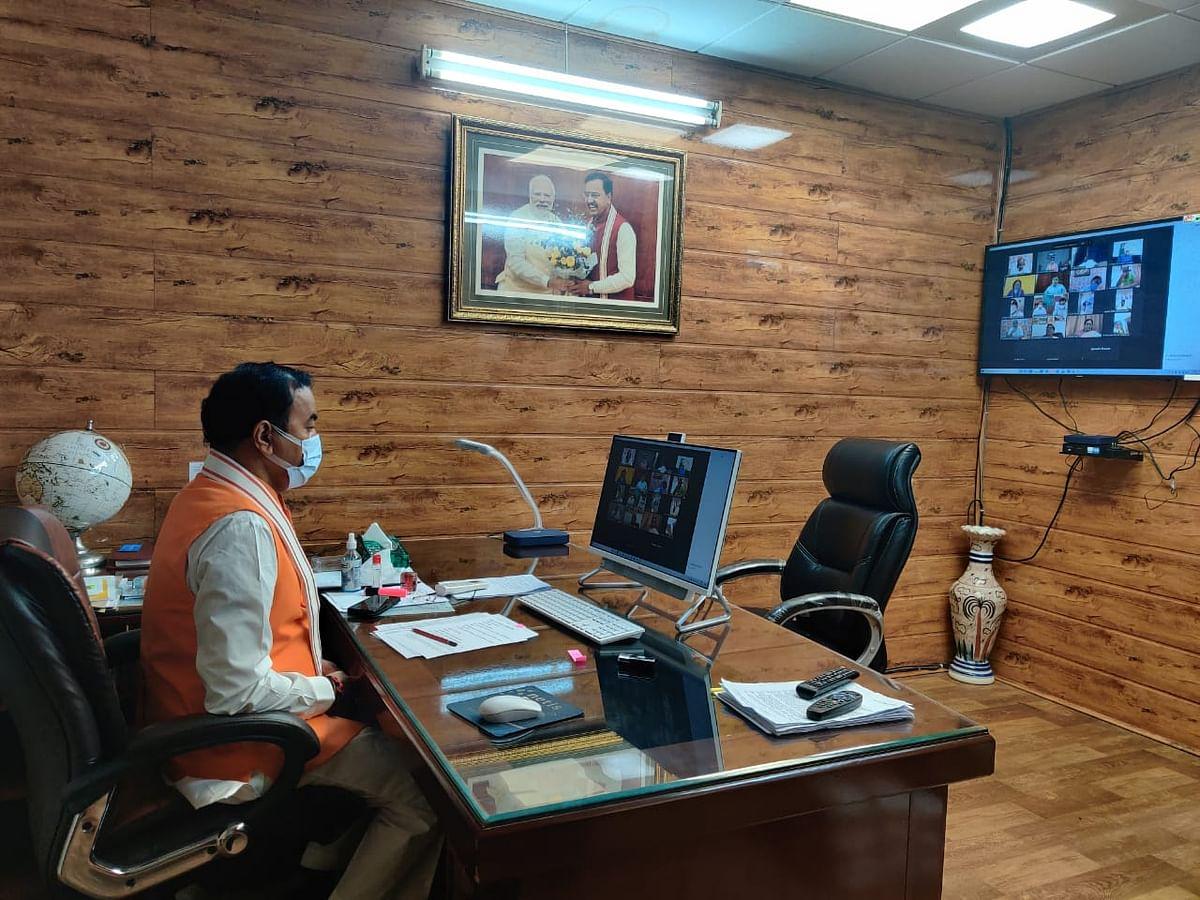 कानपुर के अस्पतालों को मिले पर्याप्त आक्सीजन, बेड़ों की बढ़ाई जाए संख्या : केशव मौर्य