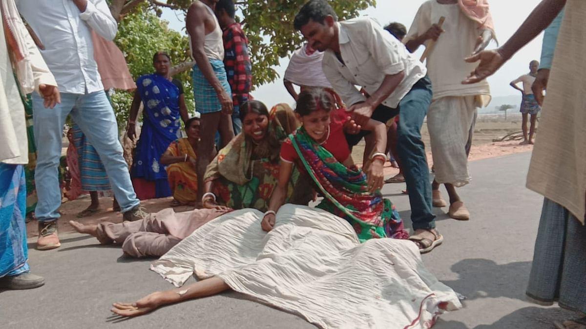 पेट्रोल पंप कर्मी की गला रेत हत्या , दो गिरफ्तार