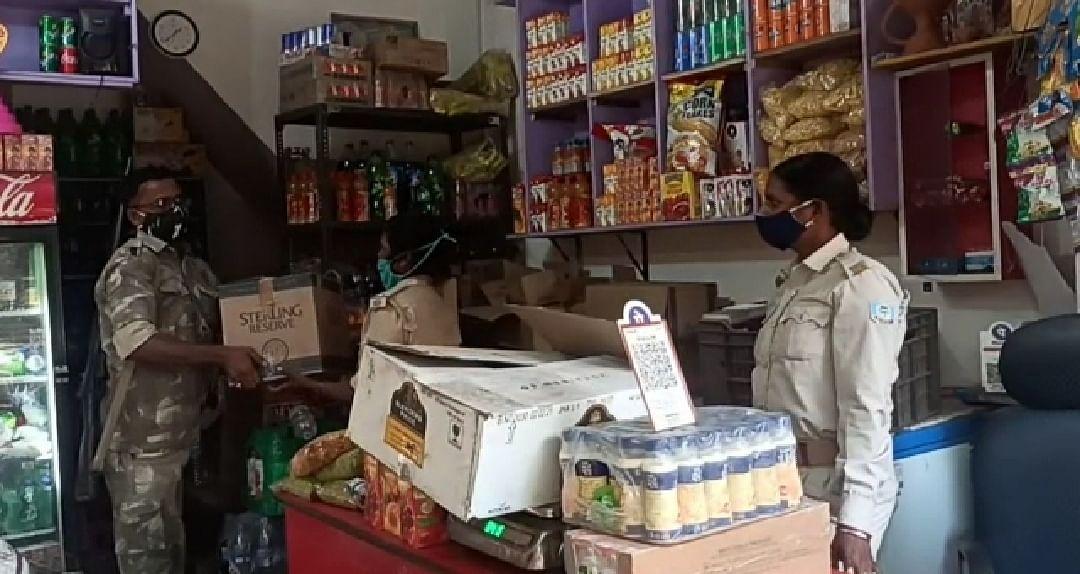 झरिया में गैरकानूनी शराब बरामद