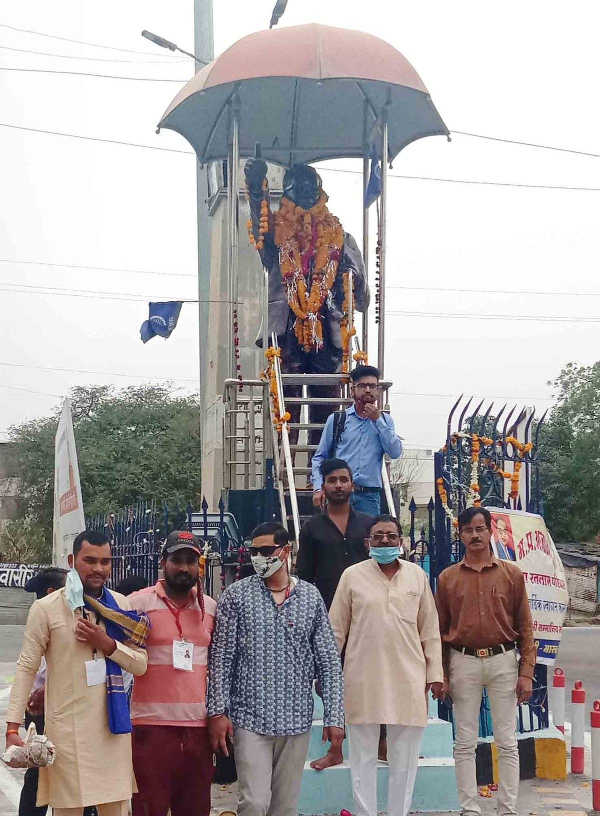 अम्बेडकरजी की 130वीं जयंती पर संगठनों ने दी श्रद्धांजलि