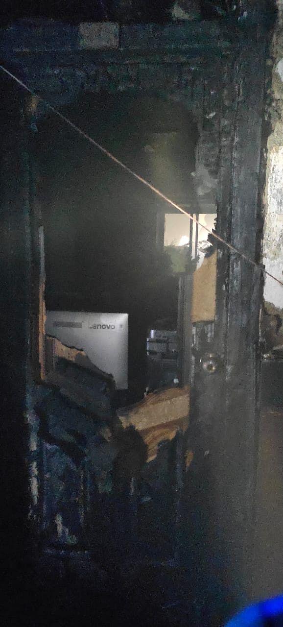 आयकर विभाग की बिल्डिंग में लगी भीषण आग