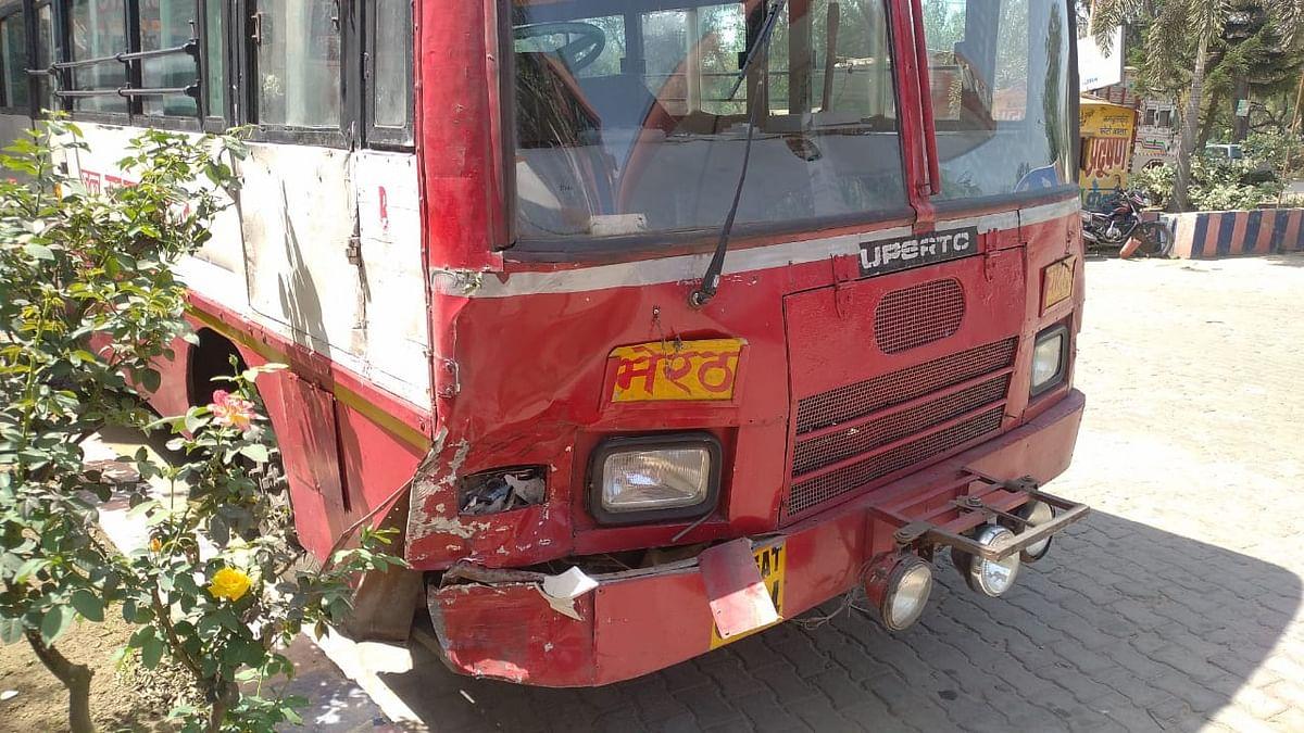रोडवेज बस की टक्कर से मोटरसाइकिल सवार की मौत
