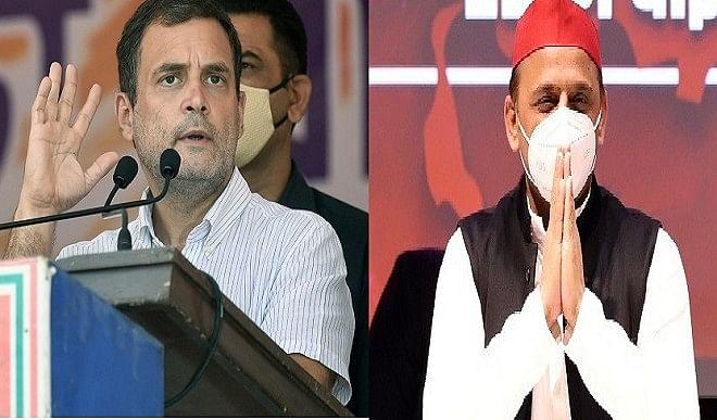 यूपी चुनाव से पहले दलित मतदाताओं को लुभाने के प्रयास में जुटे अखिलेश और कांग्रेस