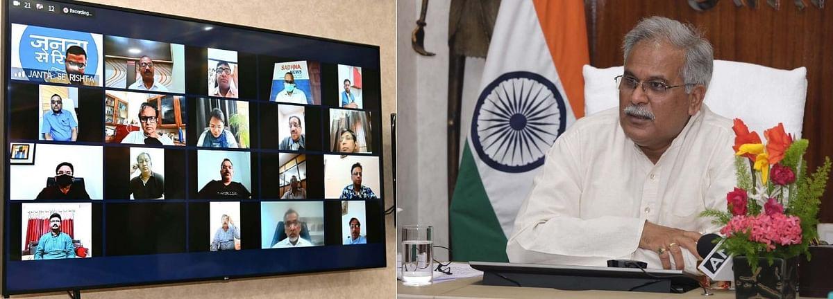 रायपुर- एयरपोर्ट और रेल्वे स्टेशनों में प्रारंभ की जाएगी आरटीपीसीआर टेस्टिंग: मुख्यमंत्री