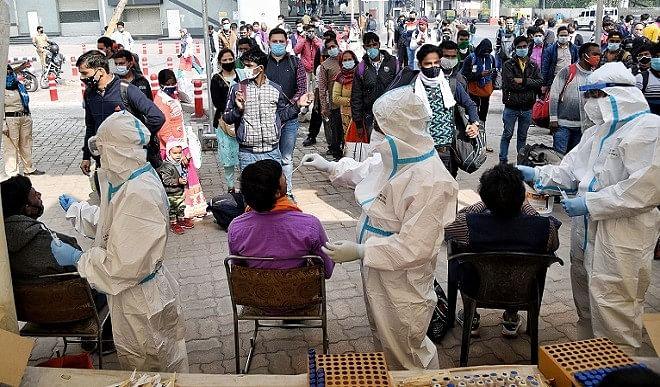 मध्यप्रदेश में कोरोना वायरस संक्रमण के 3,178 नए मामले, 11 और व्यक्तियों की मौत