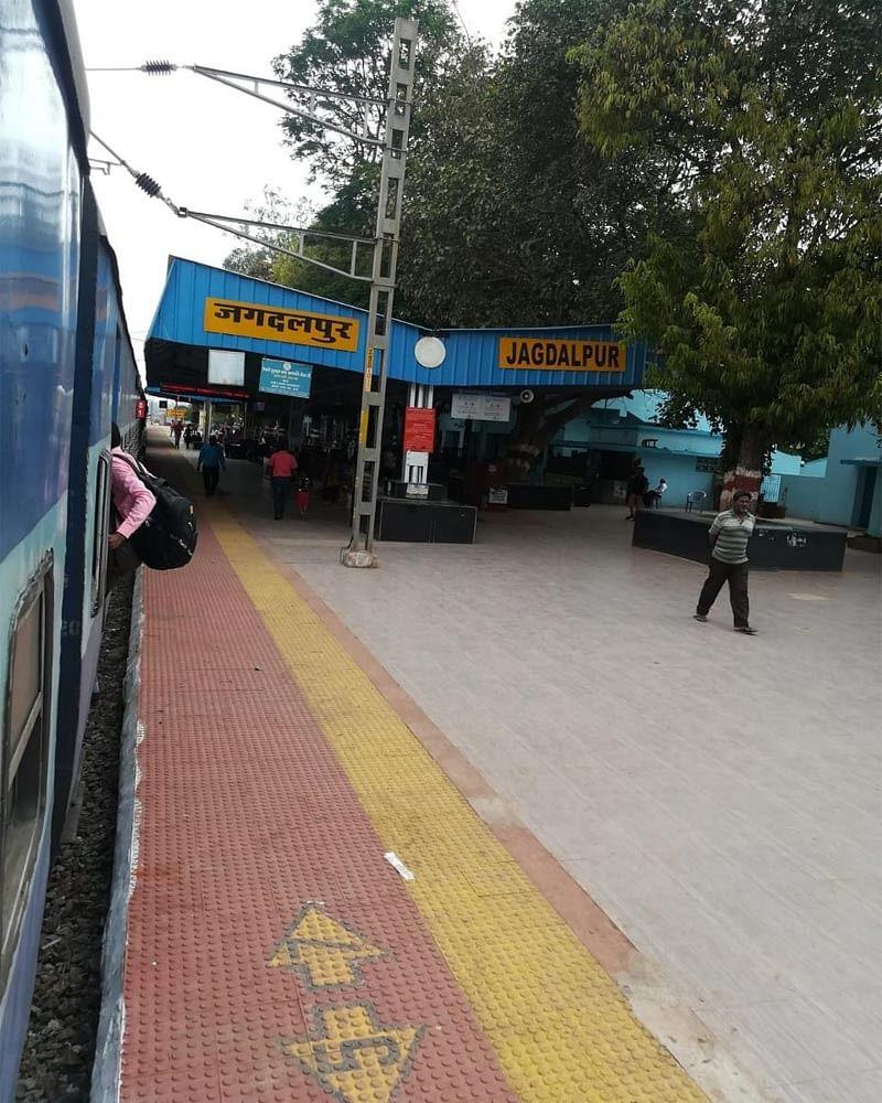 जगदलपुर : रेलमार्ग से जगदलपुर पहुंचने वाले यात्रियों का कोरोना परीक्षण अनिवार्य