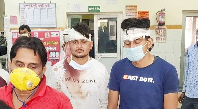 कोरोना मरीज की मौत पर मेडिकल कॉलेज में हंगामा, दोनों पक्षों से मारपीट का आरोप