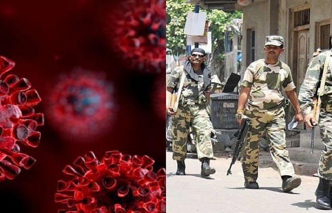 अर्द्धसैनिक बल भी हुए कोरोना के शिकार, 24 घंटे में 577 जवान संक्रमित